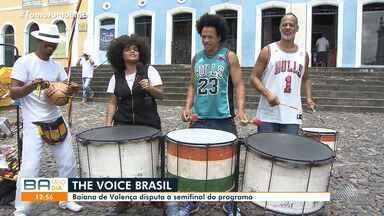 Cantora de Valença participa da semifinal do The Voice Brasil nesta terça-feira - Ela é a única representante da Bahia, e faz parte do time de Iza.