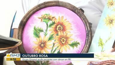 Grupo Girassol é exemplo do auxílio ao tratamento contra o câncer em RR - Programação do Outubro Rosa inicia nesta terça-feira (1º).