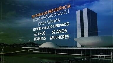 Plenário do Senado debate proposta de reforma da Previdência - Comissão de Constituição e Justiça da casa aprovaram o relatório do senador Tasso Jereissati.