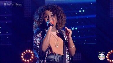 """Ana Ruth canta """"Fim de Tarde"""" - Ivete analisa a apresentação da cantora"""
