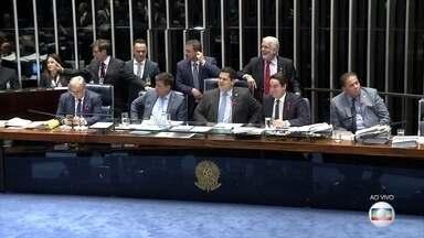 Plenário do Senado aprova texto-base da reforma da Previdência - Foram 56 votos a favor e 19 contra. Confira alguns pontos das mudanças nas regras de aposentadoria.
