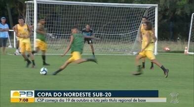 Confira como anda a preparação do CSP para a Copa do Nordeste Sub-20 - Competição regional de juniores começa no dia 19 de outubro