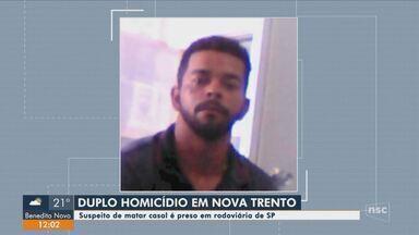 Homem é preso em rodoviária de SP suspeito de matar casal na Grande Florianópolis - Homem é preso em rodoviária de SP suspeito de matar casal na Grande Florianópolis
