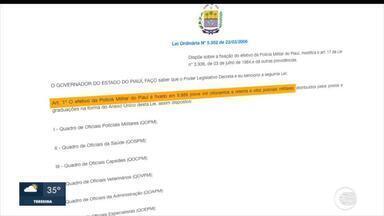 IPEA afirma que Piauí gasta mais com PMs inativos do que com ativos - IPEA afirma que Piauí gasta mais com PMs inativos do que com ativos