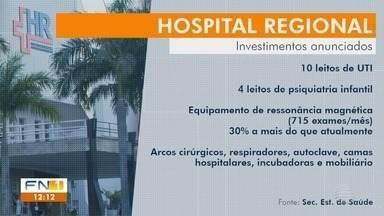 Estado divulga investimentos a serem feitos no Hospital Regional de Presidente Prudente - Unidade receberá novos leitos de UTI e aparelho de ressonância.