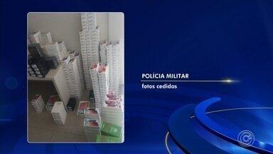 Homem é preso após furtar mais de 600 celulares de hipermercado em Jundiaí - Mais de 600 celulares foram furtados de um hipermercado localizado na Vila Municipal, em Jundiaí (SP), na madrugada desta quarta-feira (2). Um homem foi preso.