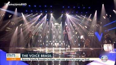Cantora de Valença chega longe, mas não garante vaga na final do The Voice Brasil - A única representante da Bahia no programa foi eliminada na noite de terça-feira (1).