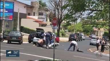Acidentes são frequentes na Avenida Professor João Fiusa em Ribeirão Preto - Especialista em trânsito aponta melhorias em trecho na zona Sul da cidade.