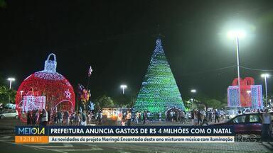 Prefeitura anuncia gastos de R$ 4 milhões com o Natal - Previsão foi dada nesta quarta-feira (2).