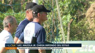 Novo técnico do Londrina disse que palavra 'rebaixamento' está proibida - O LEC volta a campo neste sábado (5) contra o Cuiabá.