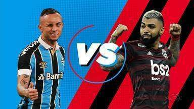 Maurício Saraiva e Paulo Nunes, ex-Grêmio e Flamengo, comparam Everton e Gabigol - Assista ao vídeo.