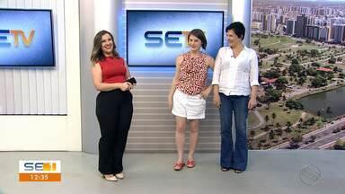 Alessandra Maestrini e Mirna Rubim apresentam comédia musical em Aracaju - Alessandra Maestrini e Mirna Rubim apresentam comédia musical em Aracaju.