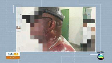 Agentes socioeducativos ficaram feridos durante tentativa de fuga no Cenam - Agentes socioeducativos ficaram feridos durante tentativa de fuga no Cenam.