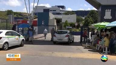 Trânsito é alterado na Rua Cláudio Batista, em Aracaju - Trânsito é alterado na Rua Cláudio Batista, em Aracaju.