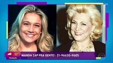 Fernanda Gentil é comparada com Hebe Camargo - Participe do 'Se Joga' e envie um zap para o programa