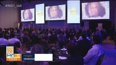 Empresários de Uberlândia são homenageados no Top of Mind - Prêmio reconhece as marcas mais lembradas na cidade. Também foram premiadas empresas que se destacaram em inovação, investimentos e geração de empregos.