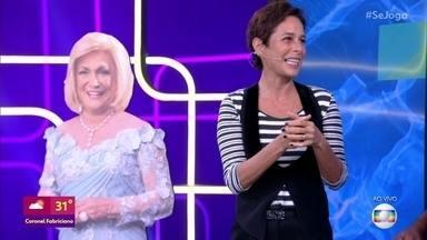 Andréa Beltrão, que vive Hebe Camargo no cinema, se joga no 'Zoom das Estrelas' - Atriz interpreta a apresentadora Hebe Camargo em filme 'Hebe - A Estrela do País'