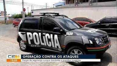 Operação contra os ataques criminosos no Ceará - Saiba mais no g1.com.br/ce