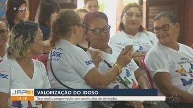 Em Macapá, Sesc realiza programação com quatro dias de atividades para idosos - Em Macapá, Sesc realiza programação com quatro dias de atividades para idosos