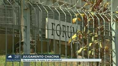 Cabeleireiro acusado de matar seis pessoas em bordel é julgado em Jaboticabal, SP - Os crimes aconteceram em um bordel, em dezembro de 2016.