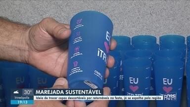 Marejada adota medidas sustentáveis para edição de 2019; festa começa na próxima semana - Marejada adota medidas sustentáveis para edição de 2019; festa começa na próxima semana