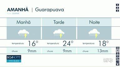 Depois de 12 dias sem chuva, umidade relativa do ar cai em Guarapuava - Tempo seco deve ter fim com chuva que está prevista para quinta-feira.