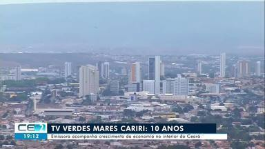 10 anos de TV Verdes Mares Cariri acompanhando crescimento da região - Confira mais notícias em g1.globo.com/ce