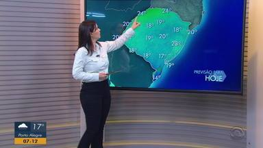 Temperaturas ficam mais baixas nesta quinta-feira (3) no RS - Assista ao vídeo.