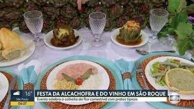 Tem festa da alcachofra e do vinho em São Roque neste fim de semana - 27ª edição da Expo São Roque vai até o dia 10 de novembro