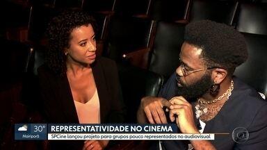 SPCine lança programa plano para grupos pouco representados no cinema - Ume dital já foi lançado e inscrições vão até novembro.