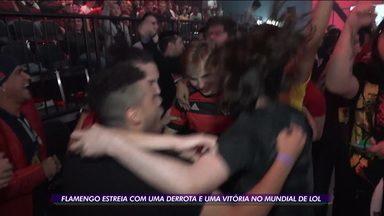 Flamengo estreia com uma derrota e uma vitória no Mundial de LoL - Flamengo estreia com uma derrota e uma vitória no Mundial de LoL