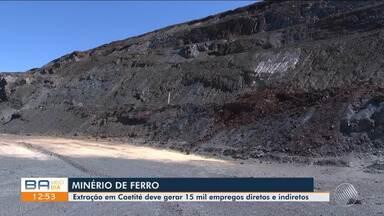 Exploração de minério de ferro deve gerar empregos e quase triplicar PIB de Caetité - Serão cerca de 15 mil empregos, diretos e indiretos.