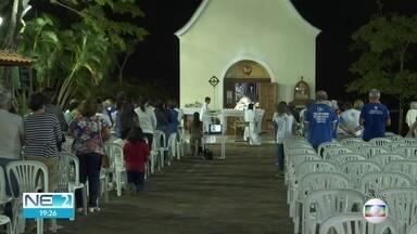Novena da Mãe Rainha prepara fiéis para a festa no Santuário de Ouro Preto, em Olinda - A festa acontece desde 1992.