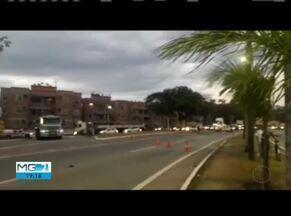 Idoso morre atropelado em Ipatinga - Segundo a PM, motorista do carro não conseguiu frear e atropelou ciclista