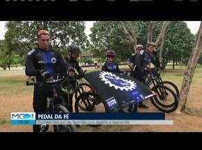 Ciclistas de Ipatinga pedalam 800 quilômetros até Aparecida - Ideia reúne fé e esporte.