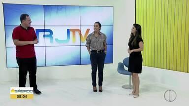 Apresentadores da Inter TV mandam os parabéns para o 'Bom Dia Sábado' - Edição deste sábado (5) foi dedicada ao aniversário de 1 ano do matinal.