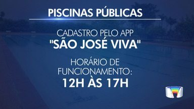 Piscinas públicas de São José abrem a partir deste sábado - Dez piscinas na cidade estarão abertas de 12h às 17h. Veja locais e saiba como ter acesso.