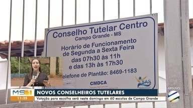 Neste domingo tem eleição dos novos conselheiros tutelares de Campo Grande - São 25 vagas para 5 conselhos.