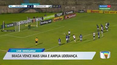 Bragantino vence e está na contagem regressiva para o acesso - Bragantino enfrentou o São Bento em Sorocaba.