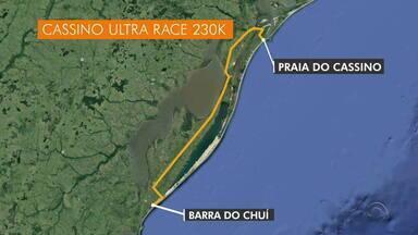 Atleta é assaltada durante super maratona e não consegue concluir a prova - Caso foi parar na polícia.