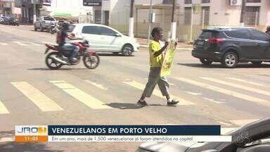 Venezuelanos em Porto Velho - Já foram mais de 1.500 Imigrantes atendidos em Porto Velho.