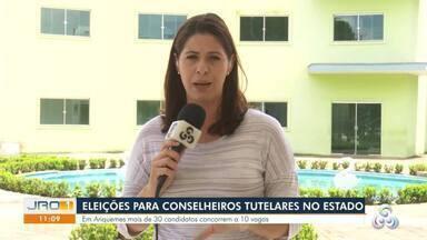 Eleição para conselheiros tutelares em Rondônia - Eleição acontece amanhã.