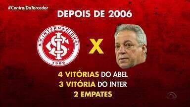 Inter reencontra Abel Braga em partida contra o Cruzeiro neste sábado (5) - Técnico fez história no time colorado.