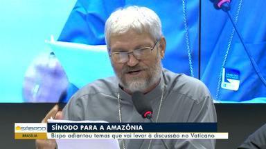 Sínodo para a Amazônia começa amanhã no Vaticano - Evento reúne bispos de países amazônicos.