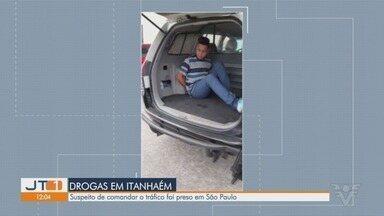 Operação policial atua contra o tráfico de drogas em Itanhaém - Homem apontado como chefe do tráfico em um bairro da cidade foi encontrado e preso na capital.