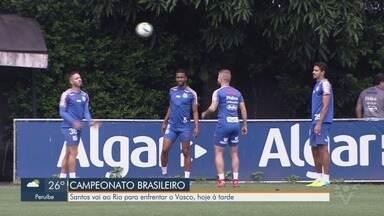 Santos vai ao Rio para enfrentar o Vasco neste sábado (5) - Santos volta a campo em São Januário. A equipe tenta nova sequência de vitórias para se aproximar dos líderes Flamengo e Palmeiras.