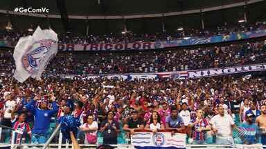 Mais de 32 mil ingressos já foram vendidos para o jogo do Bahia contra o Athletico-PR. - O tricolor joga neste sábado (5), na Arena Fonte Nova.