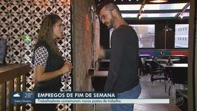 Empresas contratam trabalhadores para atuar aos finais de semana em Ribeirão Preto - Supermercados, bares e restaurantes buscam profissionais por período determinado.