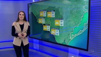 Chuva deve continuar neste domingo (6), mas pode ter sol em algumas regiões do RS - Assista ao vídeo.