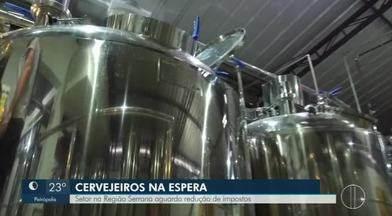 Setor cervejeiro na Região Serrana aguarda redução de impostos - Assista a seguir.
